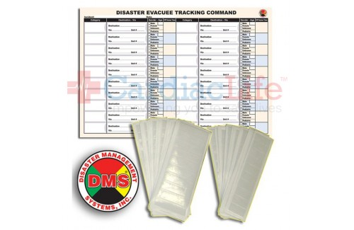 DMS-05509 Evacuee Tracking Refill Kit